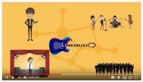 vídeos informativos de Linkmusic