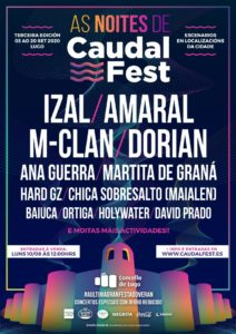 as noites de caudal fest - boletín linkmusic 4 - plataforma musical - noticias