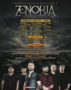 ZENOBIA - Boletin Linkmusic 9 - noticias - música