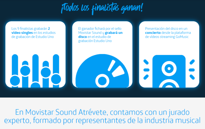 Movistar Sound Atrévete - Linkmusic