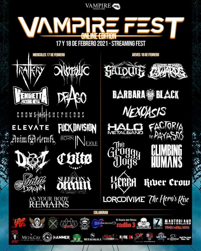 Boletín Linkmusic 31 - Vampire fest - música - rock - metal