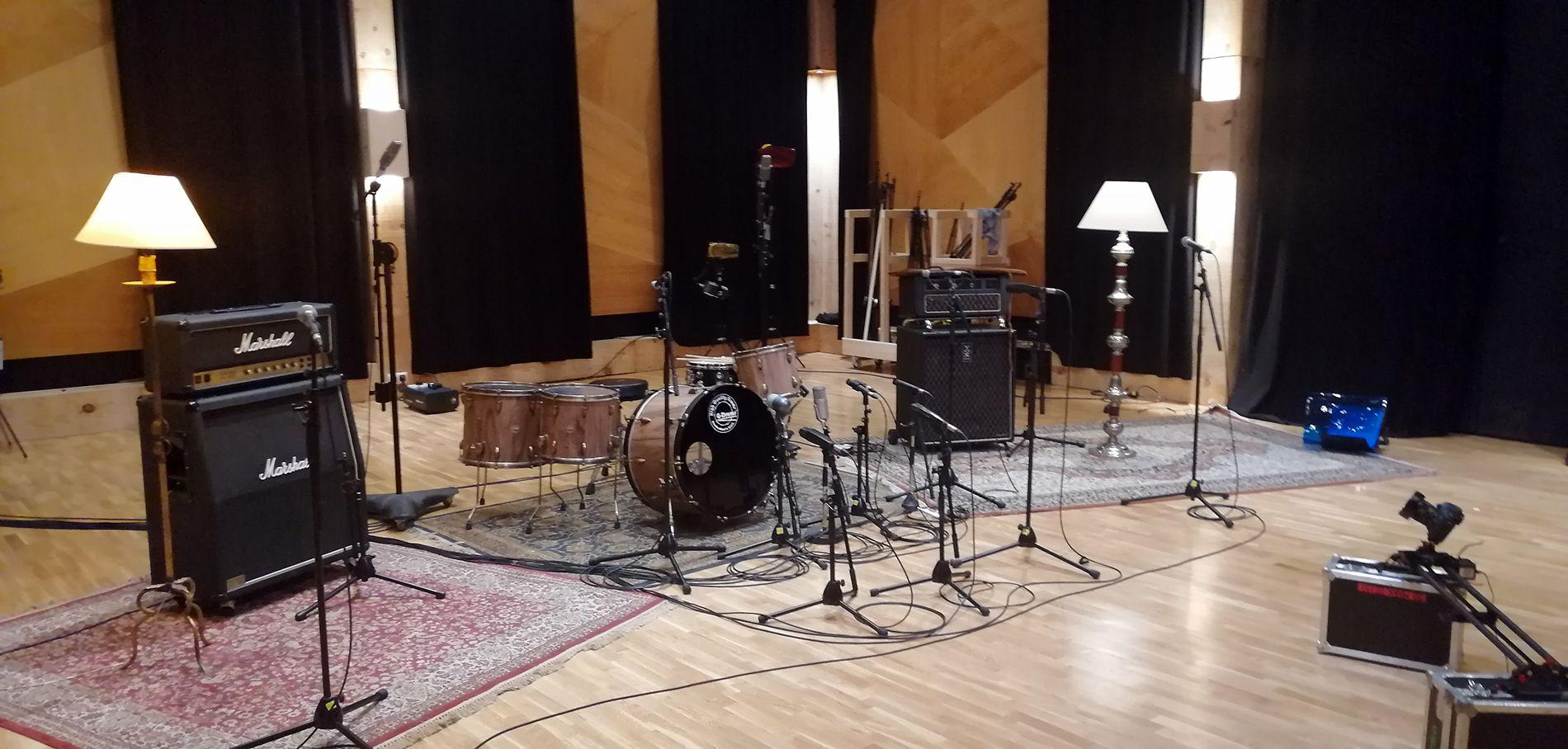Set grabación