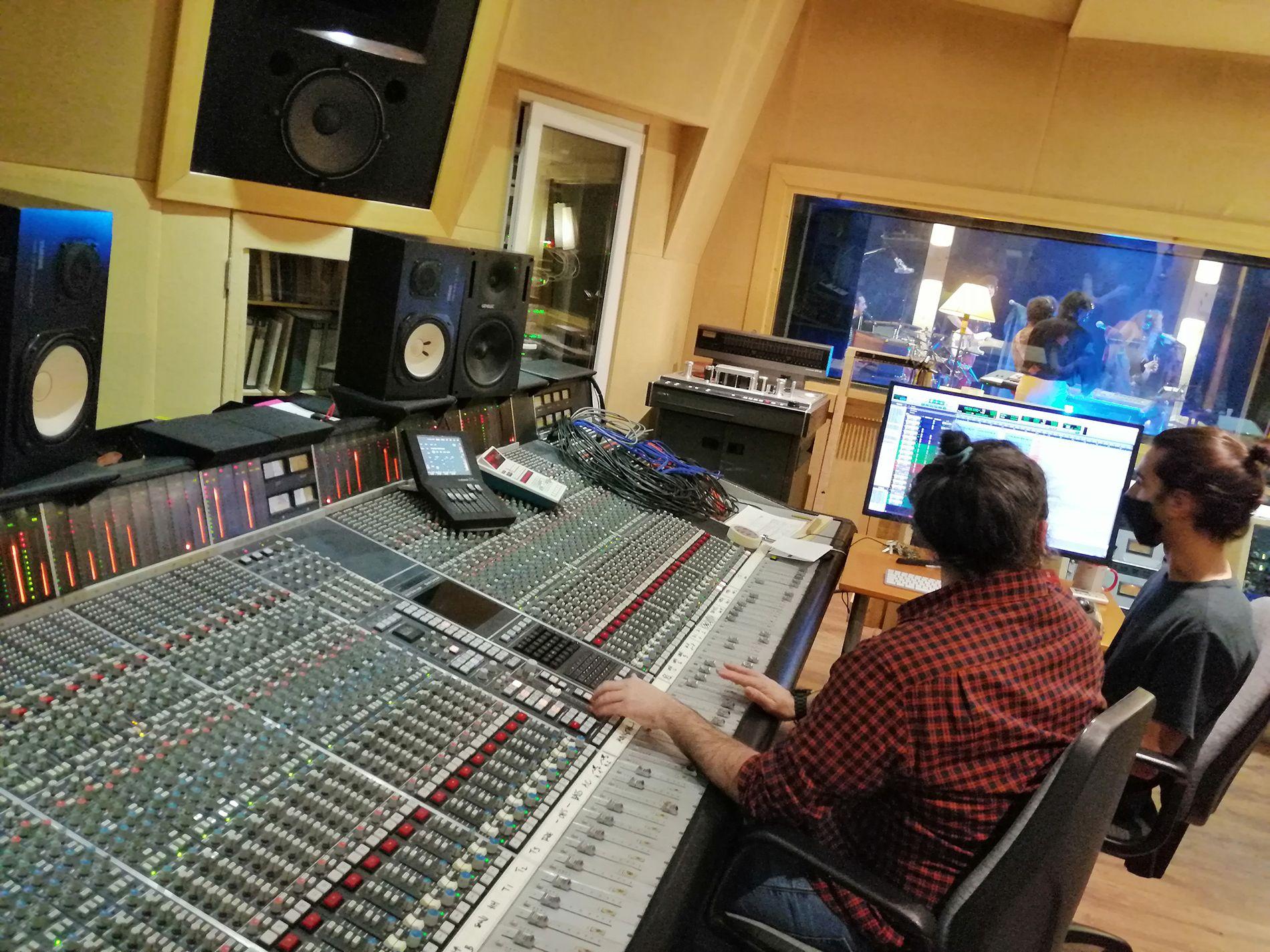 mesa Solid State Logic - grabación