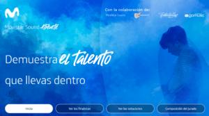 Boletín Linkmusic 32 - concurso movistar sound atrévete - música