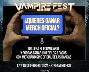 sorteo vampire - boletín Linkmusic 30 - noticias - vampire fest - música