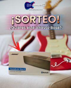 Linkmusic - sorteo - musica - Bose altavoces