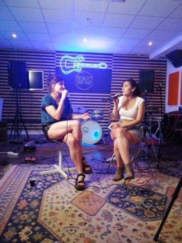 Momento entrevista con Marta Tchai