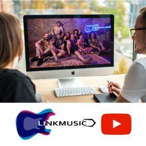 Linkmusic en Twitch - música